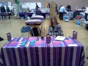 Me at the Mind Body Spirit Fair
